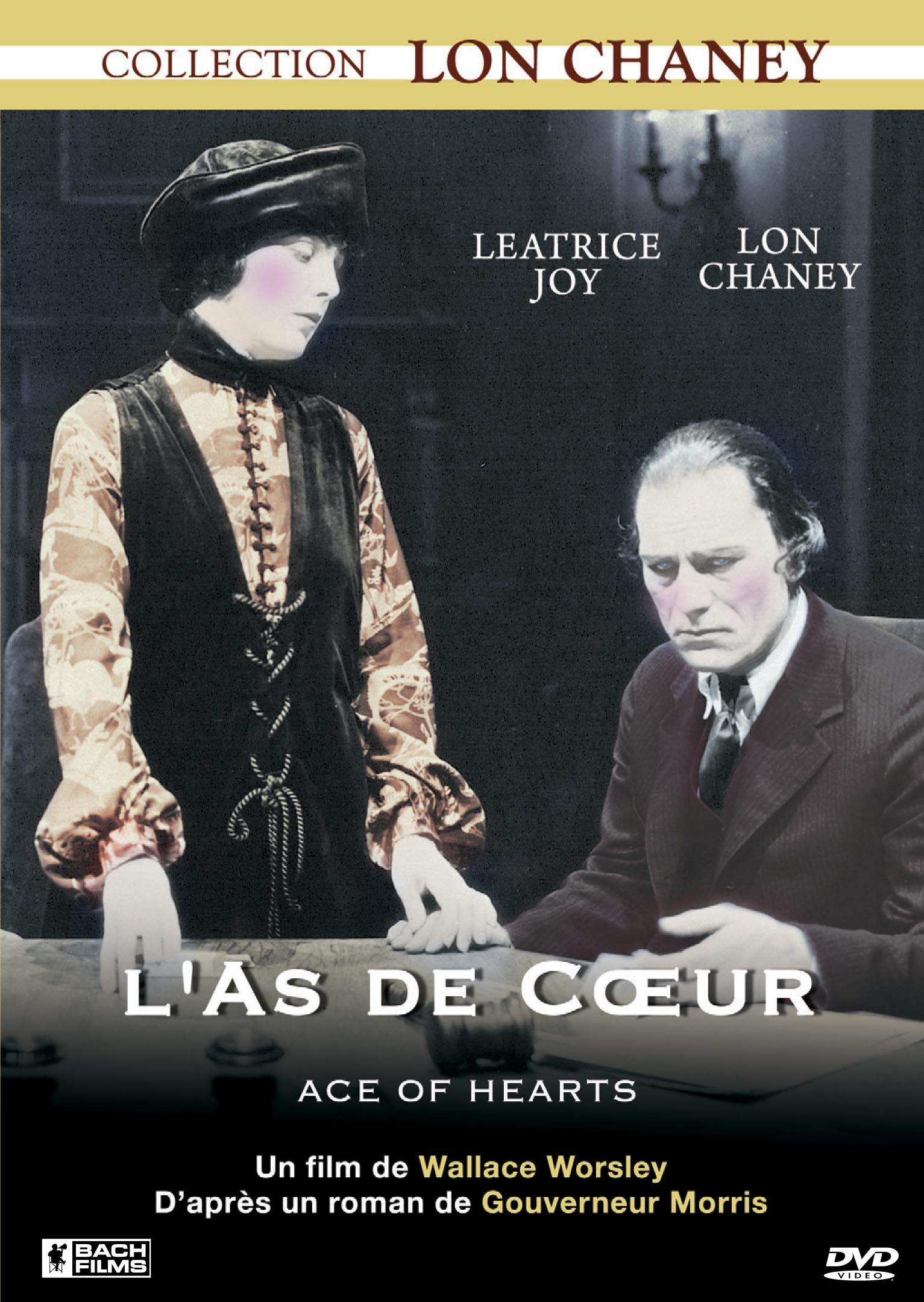 L'as de coeur - dvd  collection lon chaney