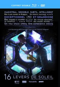 Thomas pesquet - 16 levers de soleil realise - combo 2 dvd + blu-ray