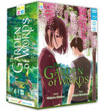 Garden of words (the) - coffret collector cross - dvd + blu-ray
