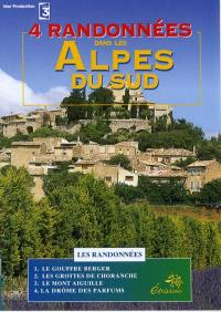 Alpes du sud - dvd  randonnees