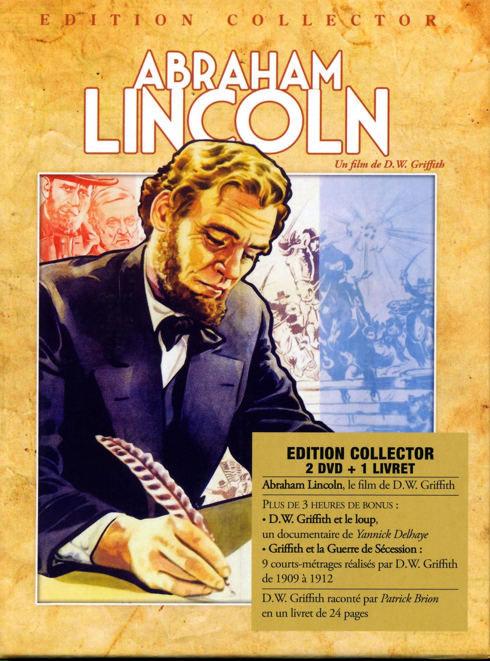 Coffret abraham lincoln - 2 dvd