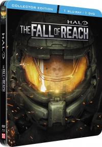 Halo - the fall of reach - edition collector steelbook - dvd + blu-ray