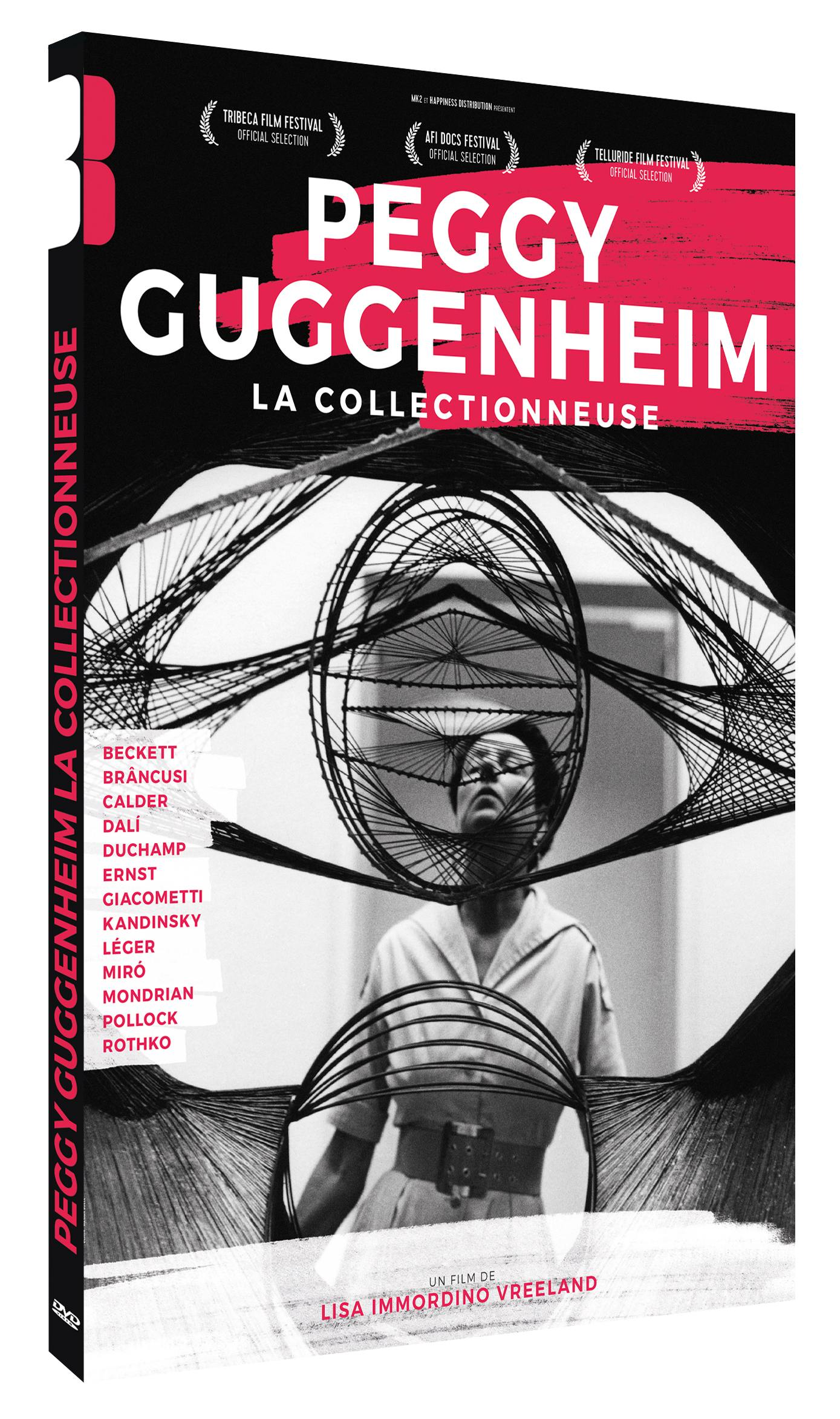 Peggy guggenheim, la collectionneuse - dvd