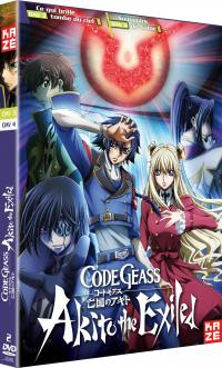 Code geass akito - the exiled - oav 3 et 4 - 2 dvd