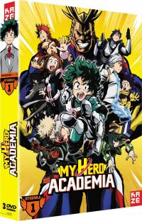 My hero academia - saison 1 - 3 dvd