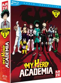 My hero academia - saison 1 - 2 blu-ray