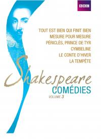Coffret shakespeare comedies vol 3 - 6 dvd