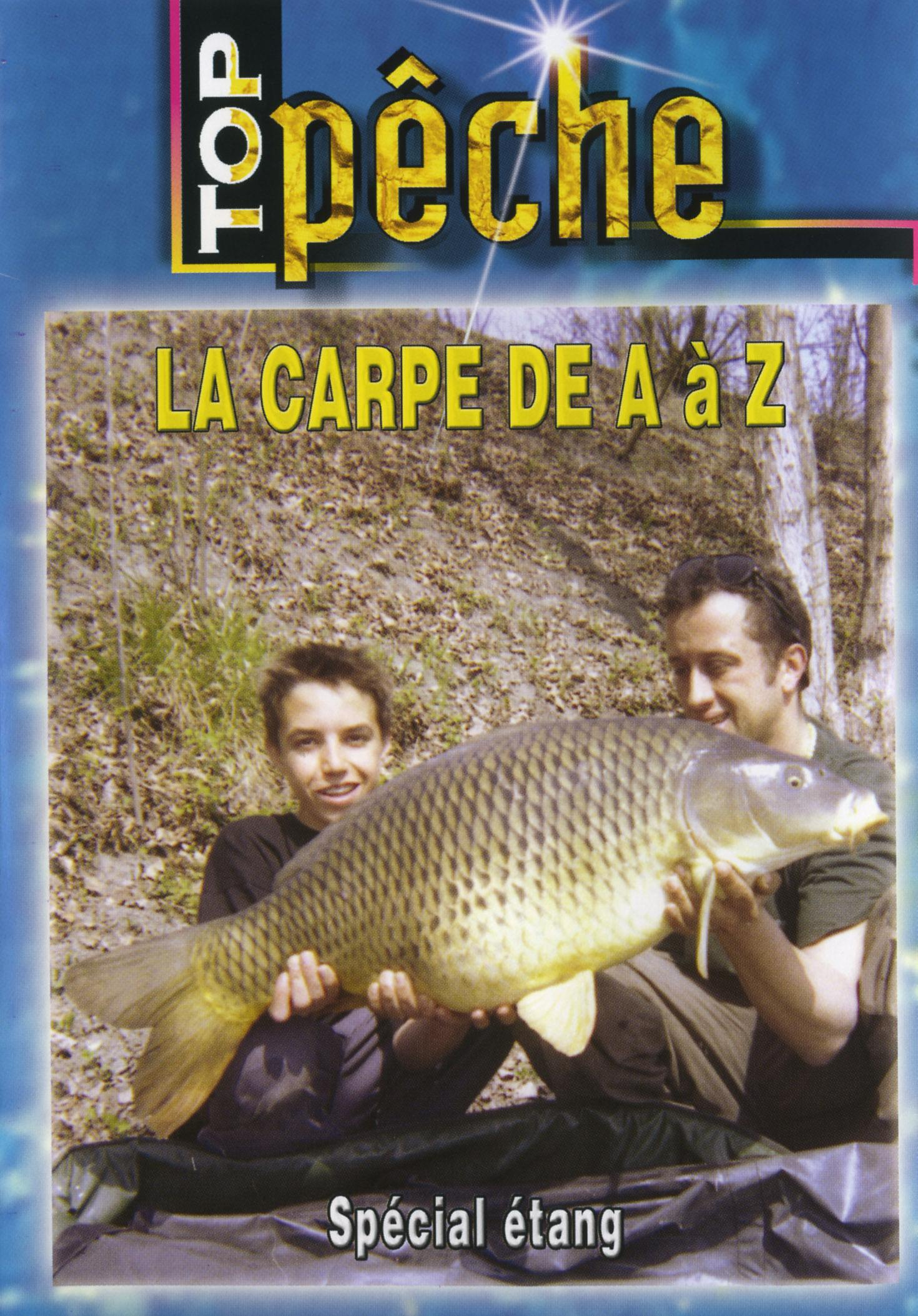 Top peche - la carpe de a a z - dvd