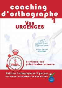 Coaching d orthographes : urgences - dvd