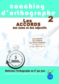 Coaching d orthographes : les accords - dvd
