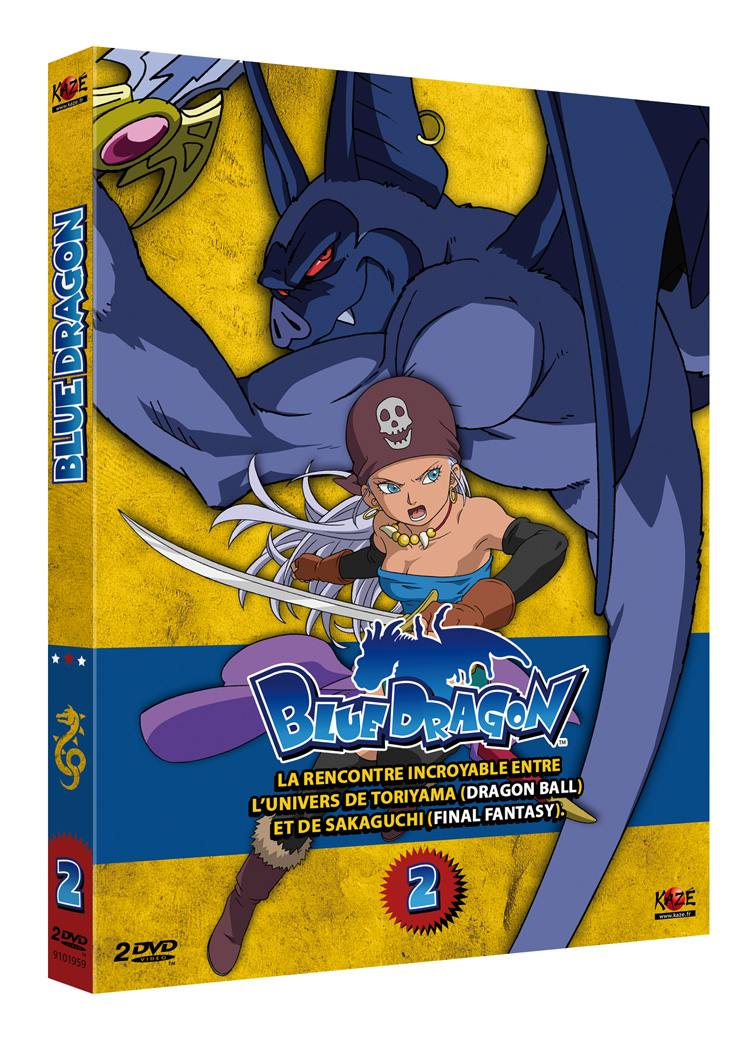 Blue dragon - partie 2 sur 5 - 2 dvd