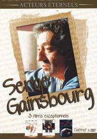 Serge gainsbourg - 3 dvd acteurs eternels