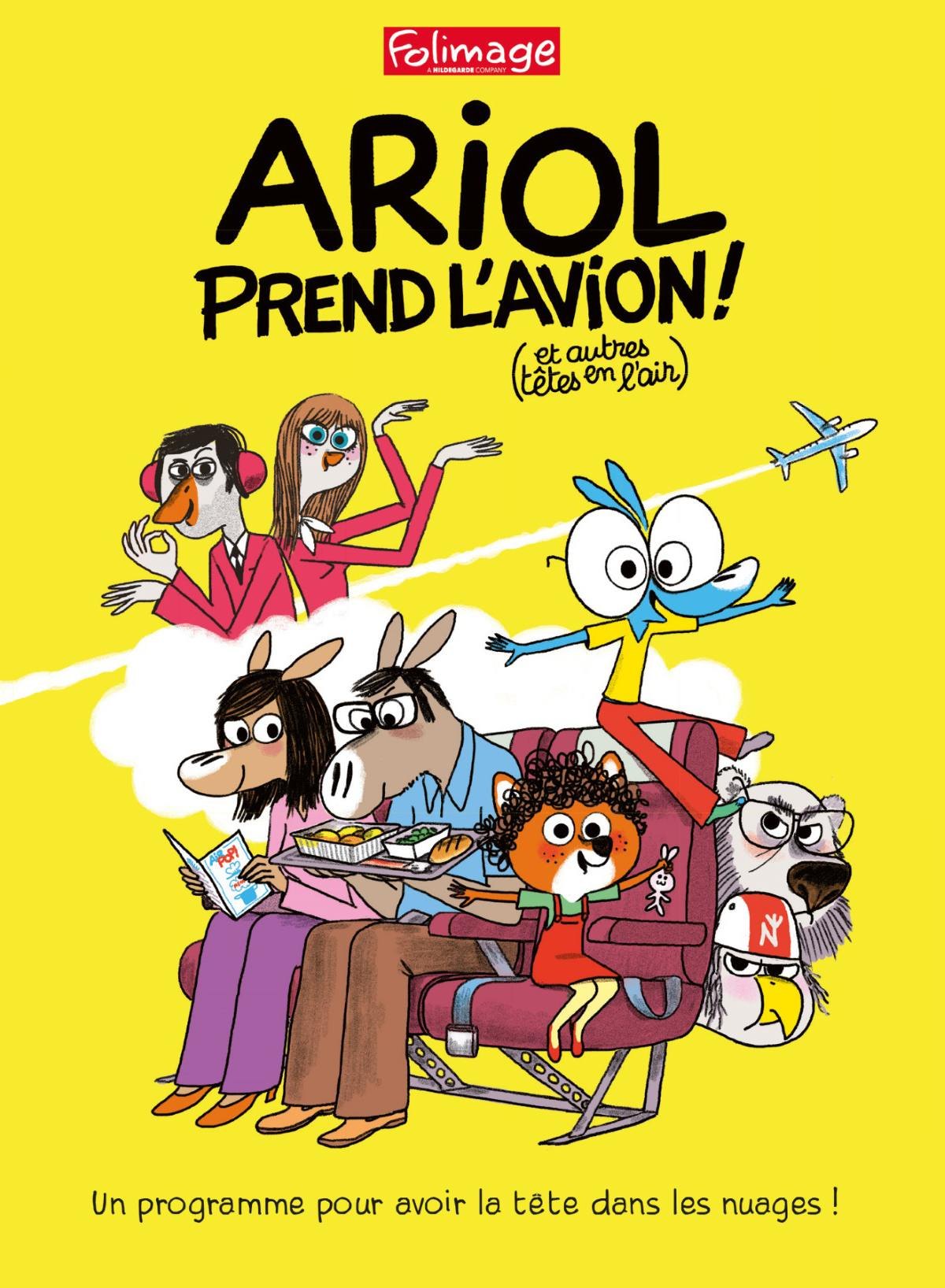 Ariol prend l'avion (et autres tetes en l'air) - dvd