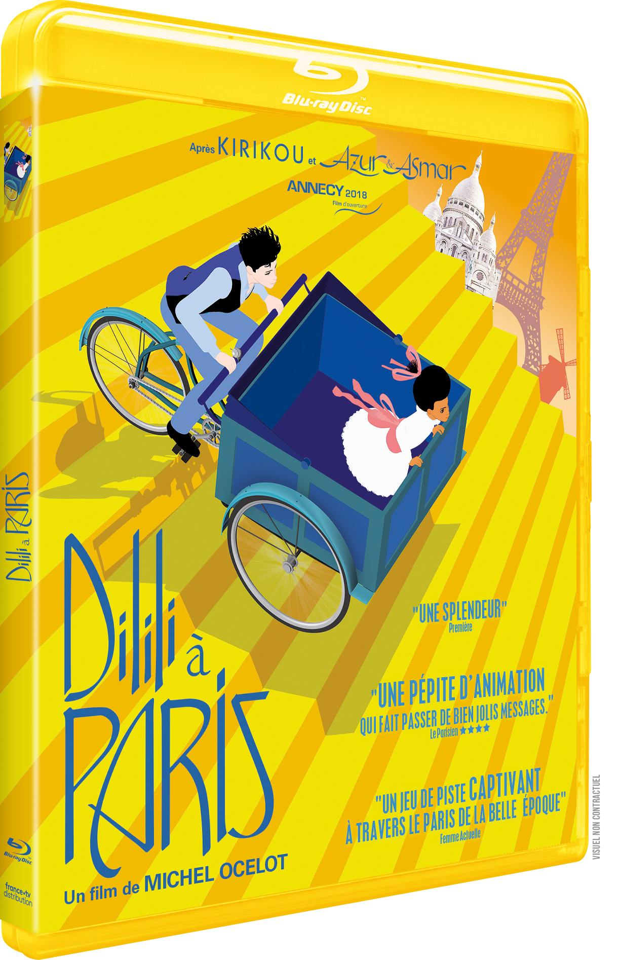 Dilili a paris - blu-ray