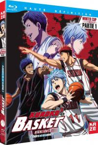 Kuroko's basket - winter cup film 1 - l'ombre et la lumiere - blu-ray