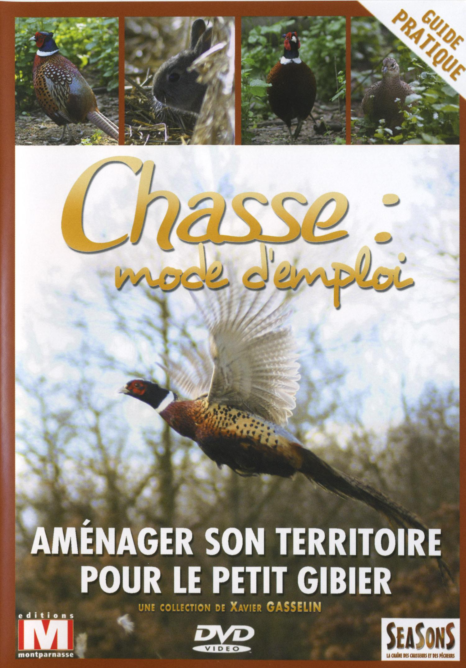 Amenager territoire pt gibier  chasse mode d'emploi - dvd