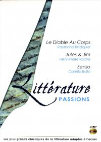 Coffret litterature vol 2 passions - 3 dvd