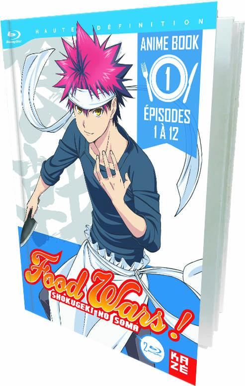 Food wars ! - saison 1 - partie 1 sur 2 - 2 blu-ray