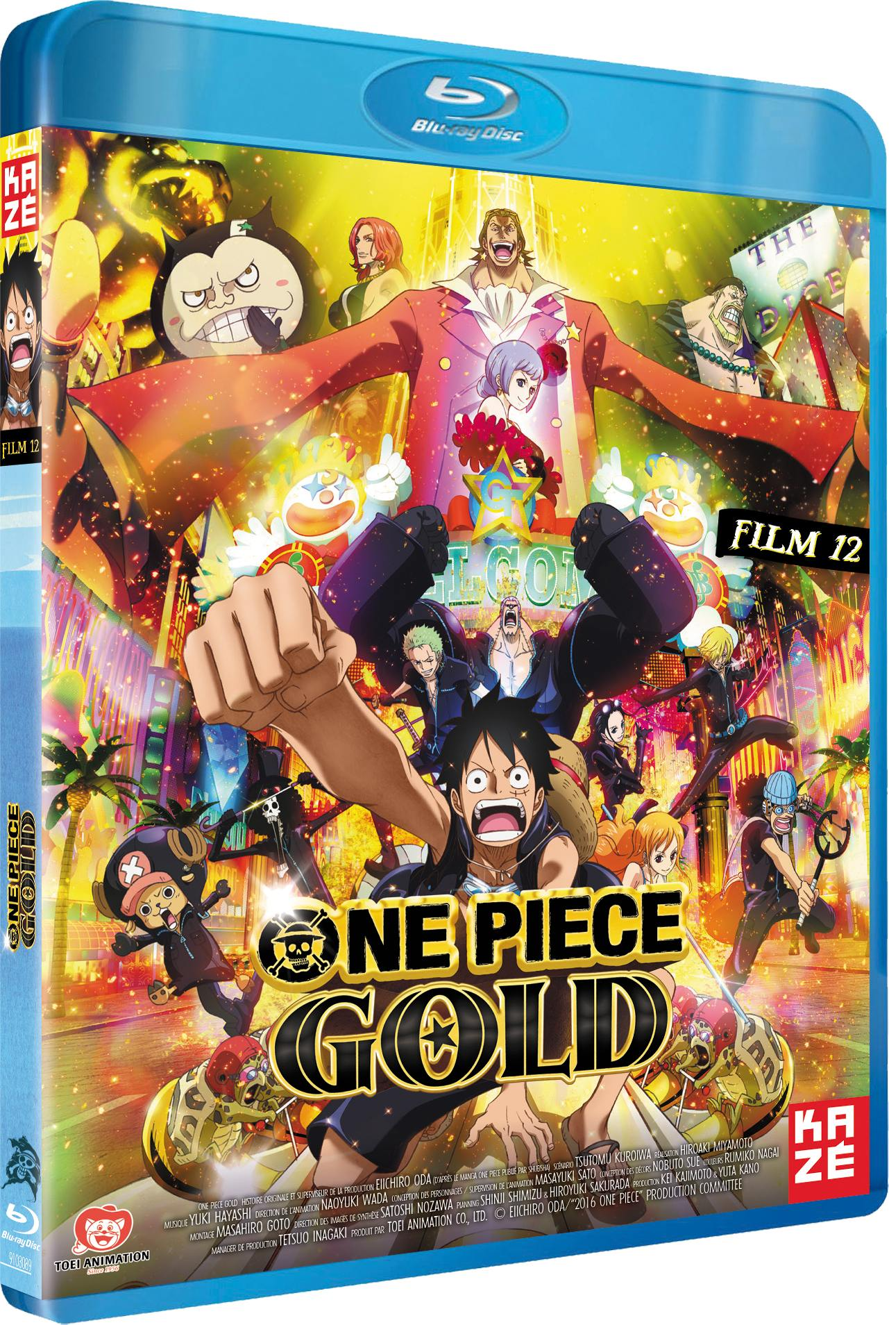 One piece - film 12 - gold - blu-ray