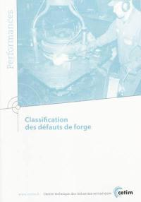 Classification des défauts de forge