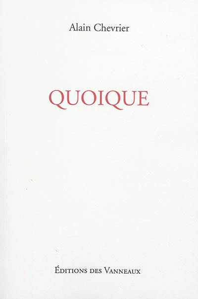 Couacs. Volume 4, Quoique