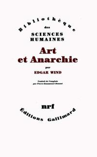 Art et anarchie