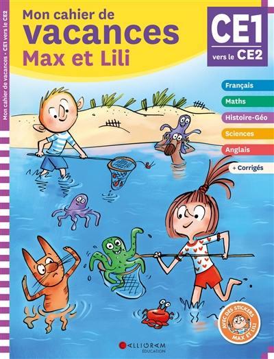 Livre Mon Cahier De Vacances Max Et Lili Ce1 Ce2 7 8
