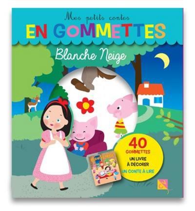 Livre Blanche Neige Cerf Volant 9782840649038