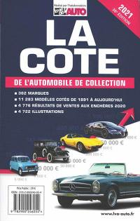La cote de l'automobile de collection 2021