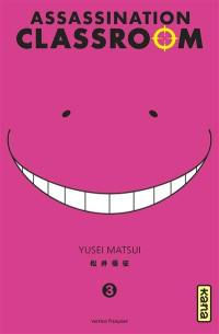 Assassination classroom. Volume 3,