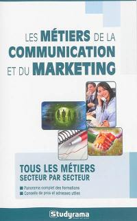 Les métiers de la communication et du marketing