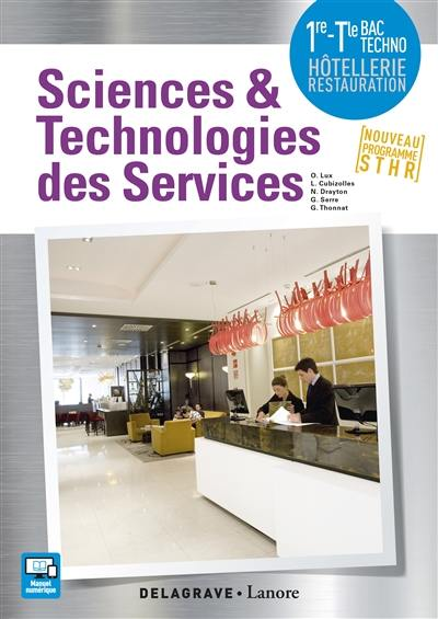 Sciences et technologies des services 1re, terminale bac STHR 2017
