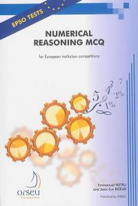 Numerical reasoning MCQ for european institution competitions