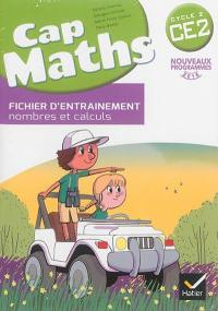 Cap maths CE2, cycle 2 : fichier + cahier + dico-maths