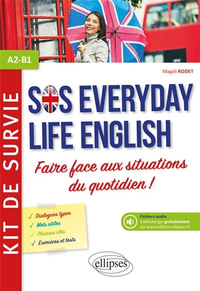 SOS everyday life English, A2-B1