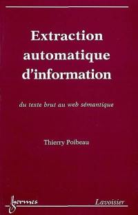 Extraction automatique d'information