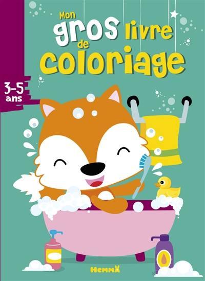 Livre Mon Gros Livre De Coloriage Hemma
