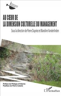 Au coeur de la dimension culturelle du management