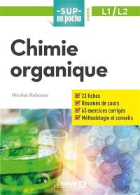 Chimie organique, L1, L2