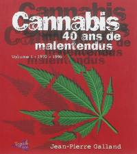 Cannabis. Volume 1, 1970-1996