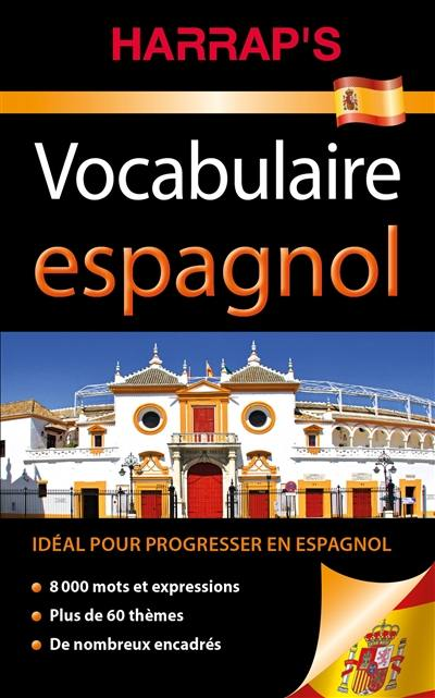 livre   harrap u0026 39 s vocabulaire espagnol  u00e9crit par harrap