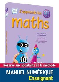 J'apprends les maths CE1, cycle 2