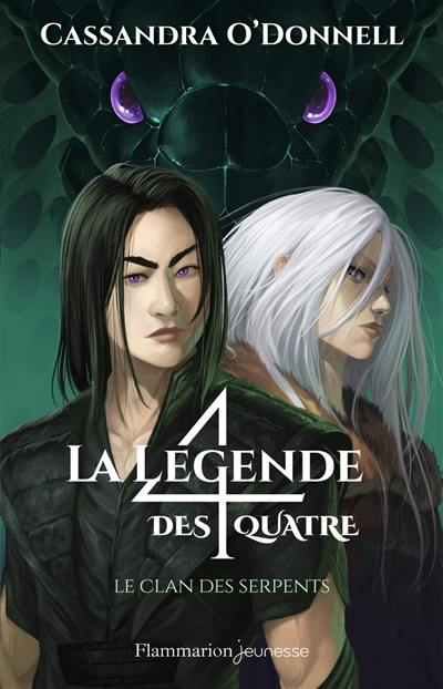 La légende des 4. Volume 3, Le clan des serpents