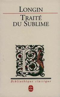 Traité du sublime