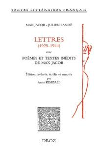 Lettres (1925-1944)