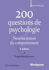 200 questions de psychologie