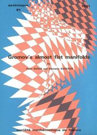 Astérisque. n° 81, Gomov's almost flat manifolds