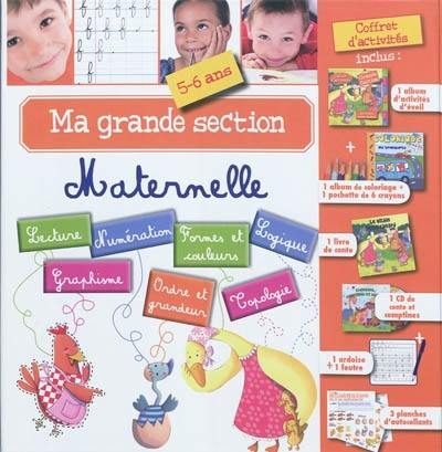 Ma grande section maternelle