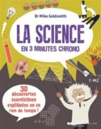 La science en 3 minutes chrono