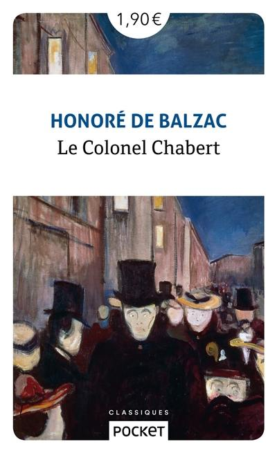 Livre : Le colonel Chabert écrit par Honoré de Balzac - Pocket
